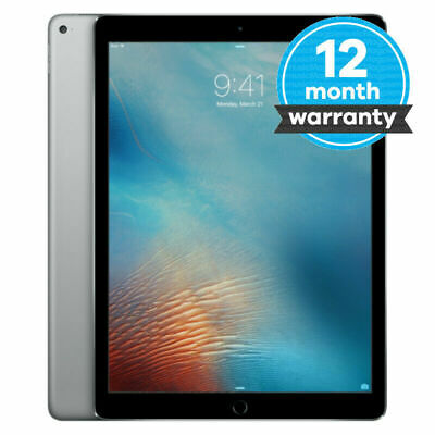 "Apple iPad Pro 12.9"" 128GB WiFi Retina Display iOS13,12 Months warranty Good Con"