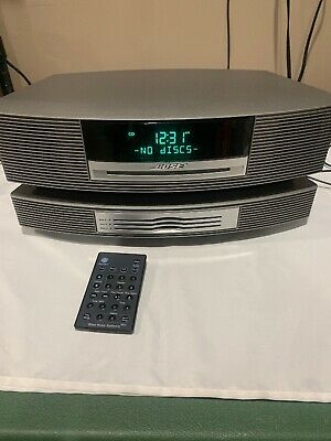 Bose Wave Music System Model AWRCC1  With Multi 3 CD Changer With Remote WORKS