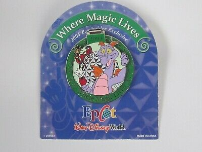 Walt Disney World Epcot Pin Figment 2004 Passholder Exclusive Limited Edition