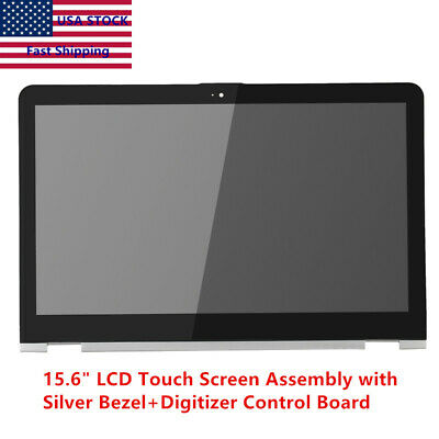 15.6 HP Envy X360 M6-AR FHD LCD Touch Screen Digitizer Assembly+Bezel 856811-001