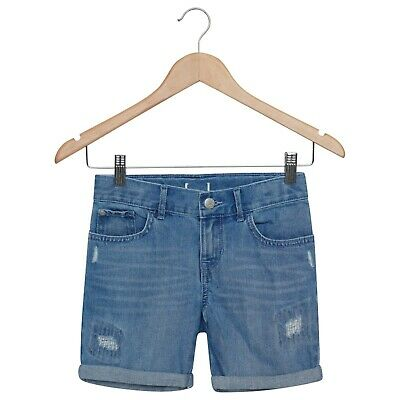Girls Denim Shorts 6 Years 8 Years Summer Holiday Children's