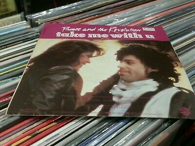 Prince and the Revolution take me with you 45rpm