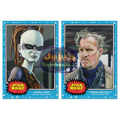 Topps Star Wars Living Set 2-Card Bundle #31-32 Aurra Sing & Beckett (Pre-sale)