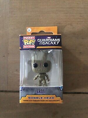 Funko Pocket Pop Keychain: Guardians of the Galaxy - Groot Bobble-Head #6714