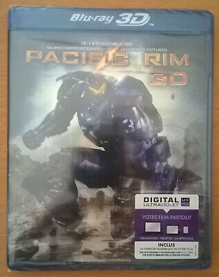 Blu-ray 3D + 2D + Digital PACIFIC RIM Neuf scellé / sealed