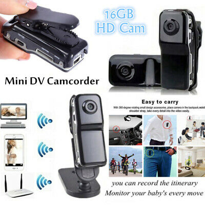 Mini Dv Telecamera Hd Micro Camera Action Spy Dvr Camcorder Md80