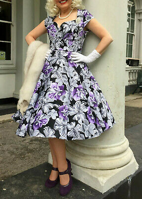 1940's/50's REPRODUCTION VINTAGE FULL CIRCLE SWING DRESS!