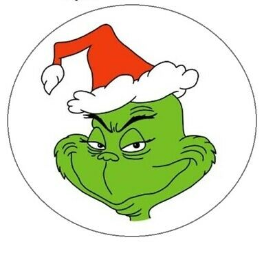 How the Grinch Stole Christmas Stickers, envelope seals