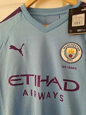 Manchester City Home Shirt 2019/20 BNWT Adult Men's Size Jersey Top Quality