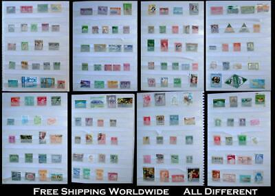 Stamp Collection British Colonies NZ Malaya India Cyprus Ex Latin America Brazil