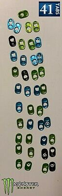41 Monster Energy Drink Tabs - Monster Promo - Assorted Colors _FREE SHIPPING