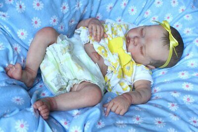 Adorable Reborn Bonnie Brown TWIN B Baby Girl *TINY*SPROUTS*REBORNS*