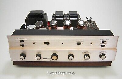 Vintage Harman Kardon A250 Integrated Tube Amplifier / 5881 -- KT