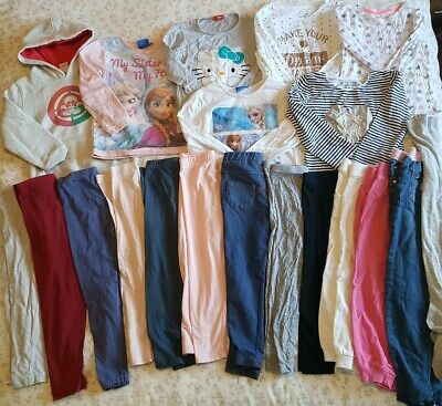 Huge Girls Autumn Winter Bundle Age 5-6 Playing Out Clothes/Spares