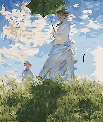 DIY MONET PAINT BY NUMBER 16 X 20 New, Hard To Find!