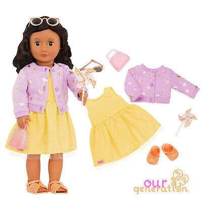NEW OUR GENERATION - SUMMER DRESS DELUXE Outfit Accessory for 18inch/46cm Dolls