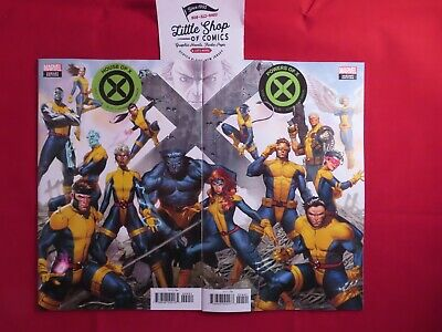 House of X #4 NM & Powers of X #4 NM Molina Connecting Variant Ready to Ship!