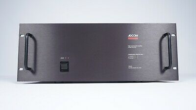 Adcom GFA-555 Stereo Power Amplifier - 200 Watts / CH - John Curl - Audiophile