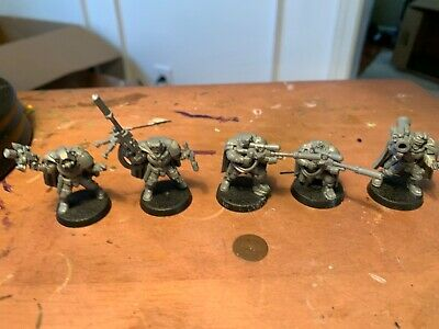 Warhammer 40k Space Marines Scout Squad (5) (Lot#1)