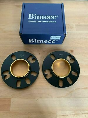2 X 5mm BIMECC BLACK HUB CENTRIC WHEEL SPACERS ALFA ROMEO MITO  58.1MM (73.1)
