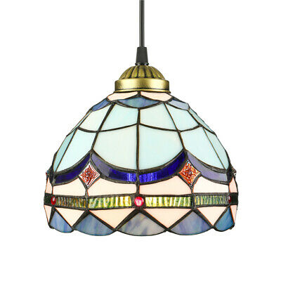 Classic Tiffany Style Stained Glass Hanging Ceiling Pendant