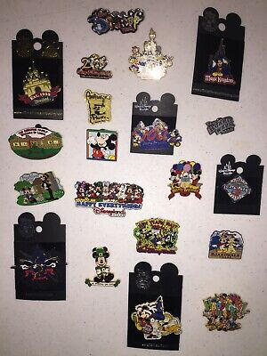 Walt Disney Collection of 20 Different DISNEY Trading PINS Donald Duck MICKEY