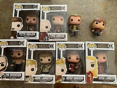 Funko pop Game Of thrones Vaulted All Lannister Family LOT + Extras
