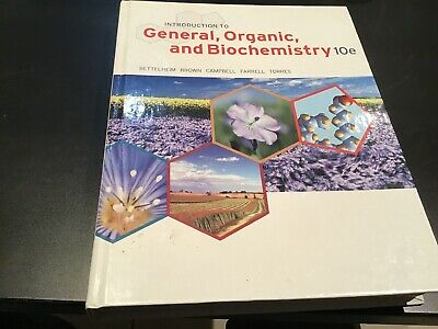 introduction to general organic and biochemistry, Never Used 2014 Edition