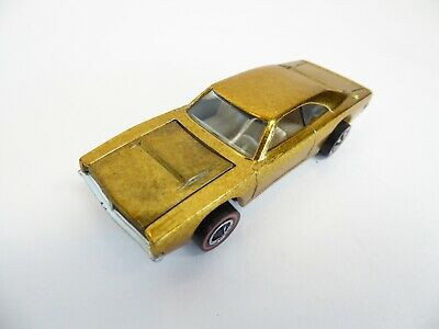 1969 Hot Wheels Redline Custom Dodge Charger - Gold