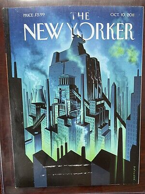 The New Yorker Magazine October 10, 2011 Bit Coin Collectible RARE! Casascius