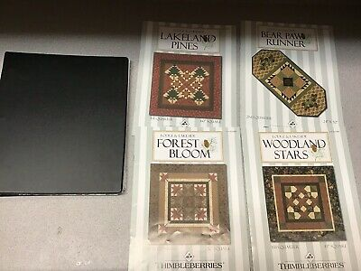 Thimbleberries Lodge Lakeside Lodge Big Club 2008 Quilt Block Patterns + Extras