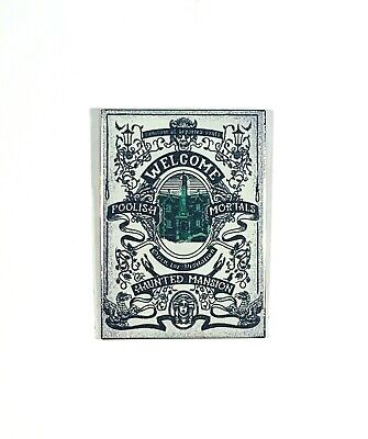 Disney Parks Haunted Mansion 50th Anniv Welcome Foolish Mortals New Pin