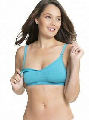 Flourish Maternity Bra Breastfeeding Bra in Aqua ~ Charley M by Cake Maternity