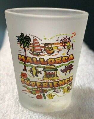 NEW Collectible Travel Shot Glass from Mallorca, Spain