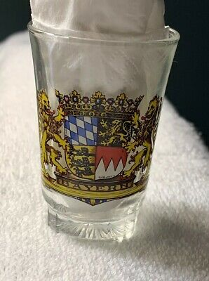 NEW Collectible Travel Shot Glass from Bayern (Bavaria), Germany