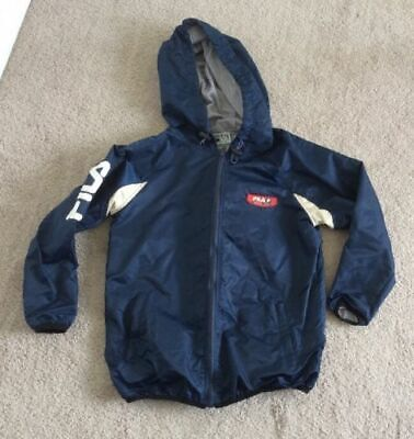 Fila - Showerproof Jacket With Hood - Size 10 - Very Good Condition