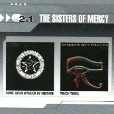 """Sisters Of Mercy """"Some Girls Wander../Vision .."""" 2 Cd"""