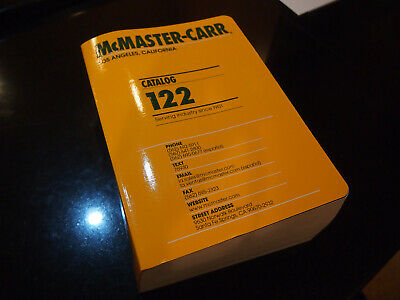 McMaster-Carr catalog 122 - very good condition
