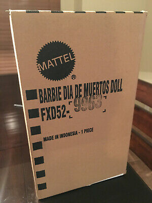 1 IN STOCK BARBIE Dia De Los Muertos Day of The Dead Mexican Doll 2019 Mattel