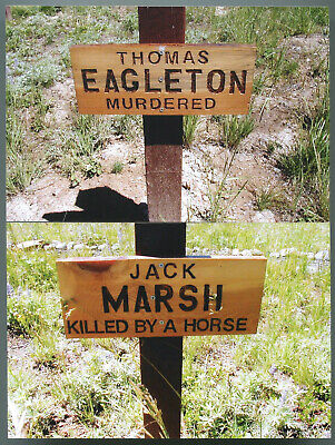 20 Pics Of Unique Grave Markers In Cemetery Of Very Old Oregon Gold Mining Town