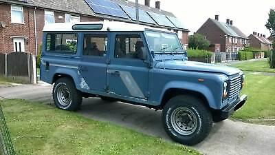 Landrover 110, 1988, pre-Defender SW, new gearbox, heated windscreen etc.