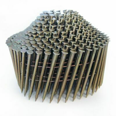 2.1 x 45mm Stainless Steel Ring Conical Coil Nails (14,400)
