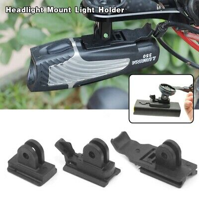 New Headlight Mount Light Holder For Cateye Niterider Gaciron fit Computer Mount