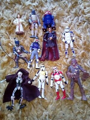 Job Lot Star Wars Figures