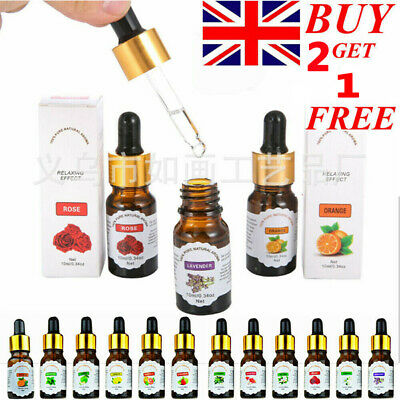12 Style Fragrance For 10ml Aromatherapy Pure Natural Essential Oil For Diffuser