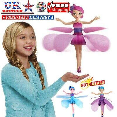Flying Fairy Princess Balls Dolls Magic Infrared Induction Control Toy Xmas Gift