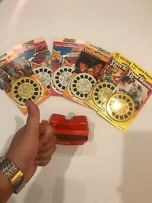 Original View Master 3D Viewer Red Classic Viewmaster Toy Slide Viewer
