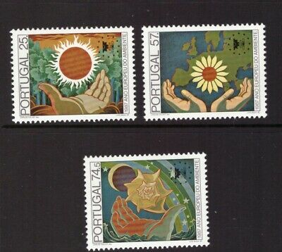 Portugal MNH 1987 Environment Nature set mint stamps
