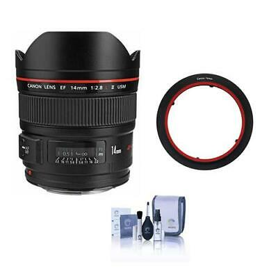 Canon EF 14mm f/2.8L II USM Lens, USA W/Lee Filters SW150 Mark II Adapter Ring