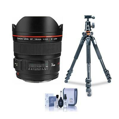 Canon EF 14mm f/2.8L II USM Lens, USA With Vanguard Alta Pro 264AT Tripod